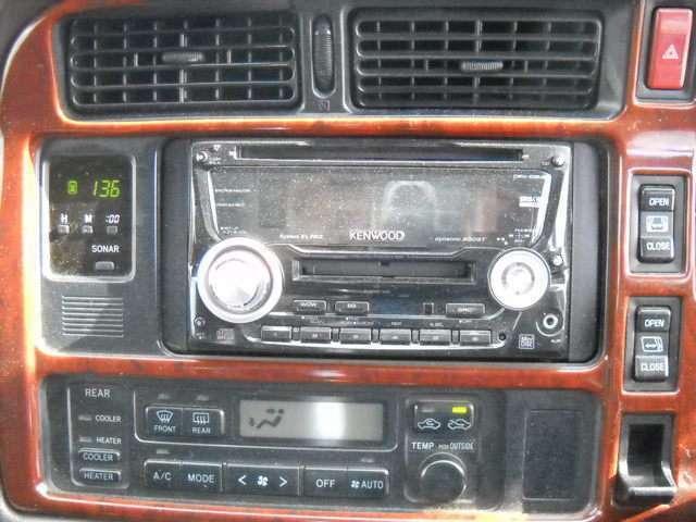 デュアルオートエアコン CD コーナーセンサー