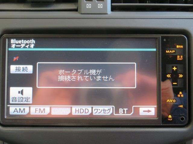 Bluetooth(ブルートゥース)接続機能付き。 スマートフォンなどからお気に入りの音楽をワイヤレス再生できます。 ドライブがさらに楽しくなりますね♪