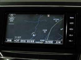 休日のドライブも簡単操作で目的地を設定でき、迷わず目的地まで案内してくれるナビゲーションです♪