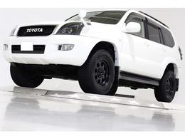 トヨタ ランドクルーザープラド 3.4 TXリミテッド 4WD ヴィンテージグリル 社外17インチAW