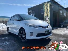 トヨタ エスティマハイブリッド 2.4 X 4WD 18インチAW・オットマン・本州車両