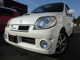 スズキ Kei 660 ワークス 4WD レカロシート・5MT・ナビ・TV・ETC・アルミ