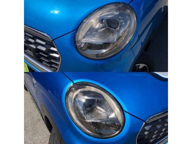 濁り、曇りの無いキレイな両ヘッドライト!HID、LEDライトへの球交換もお気軽にご相談くださいませ!