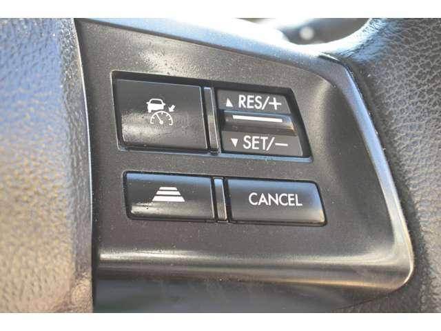 全車速追従機能付きクルーズコントロール!車間距離を自動的に保ちながら追従走行が可能です!