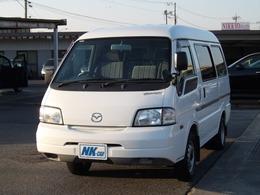 マツダ ボンゴバン 1.8 GL 低床 走行2600km 4速AT 集中ドアロック 6人乗