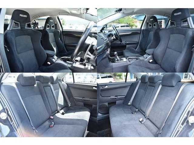 レカロセミバケットシート☆ホールド感に優れて長距離ドライブも快適です♪