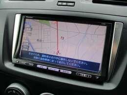 純正ナビが装備されております♪画面もクリアで見やすく運転中も確認しやすいです♪ワンセグTV+DVDの視聴もお楽しみ頂けます♪ロングドライブの時でも快適にドライブをお楽しみ頂けます♪