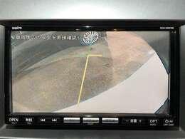 「サイドカメラ」 特に死角が多い車体横側の確認が出来ます!