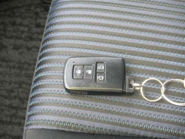 スマートキーです。鍵を取り出さずドアロック、アンロックができます!荷物で両手がふさがってる時なども簡単にロックの開閉ができます♪