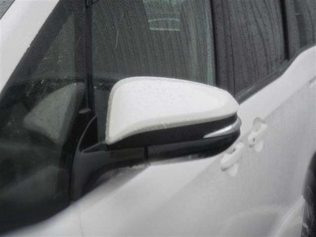 (ウィンカーミラー)周りの車に、「ウインカー&ハザード」を気付いてもらえる装備です。だから、安全・安心!さらに、最近の装備ですので友達に自慢できますよ。