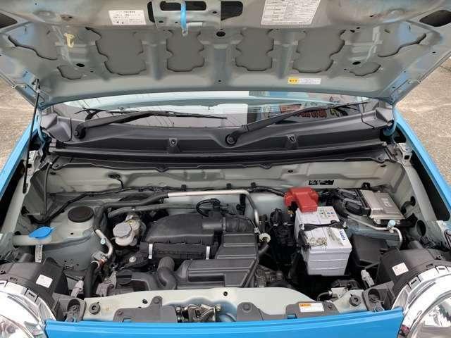エンジンはR06Aでタイミングチェーン式となります。 K6Aエンジンの後継となり、とても信頼性の高いスズキのメインエンジンとなります。 ハスラーの他、ワゴンRやジムニーなど様々な車種に搭載されています
