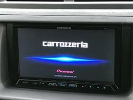 【サイバーナビ】カロッツェリア製の高性能ナビ搭載!BluetoothオーディオやSD再生など多彩な音楽再生、フルセグTVまで見れる高性能ナビです!長距離のお出かけにも最適。
