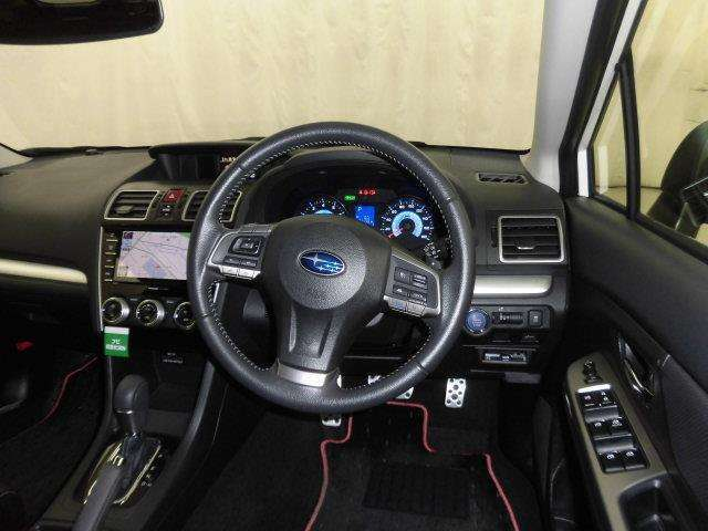 ドライバー目線からの画像です。視界が広く、周囲も見やすいので安心して運転できます。