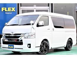 トヨタ ハイエース 2.7 GL ロング ミドルルーフ 4WD FLEXVer1.5ベットキット床張施工