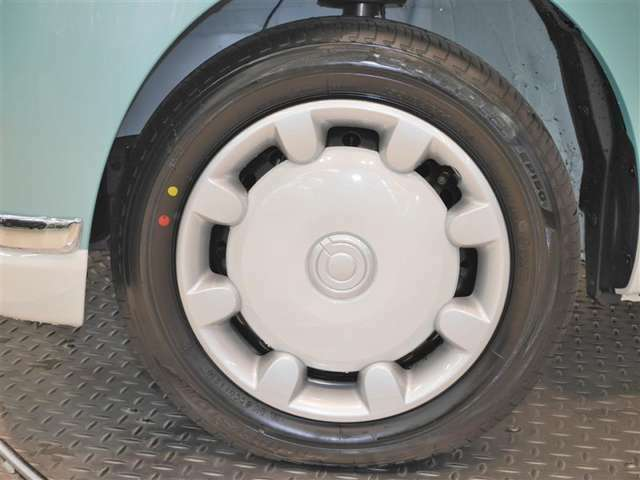 タイヤサイズ☆ 155/65R14(タイヤは現状と異なる場合があります)