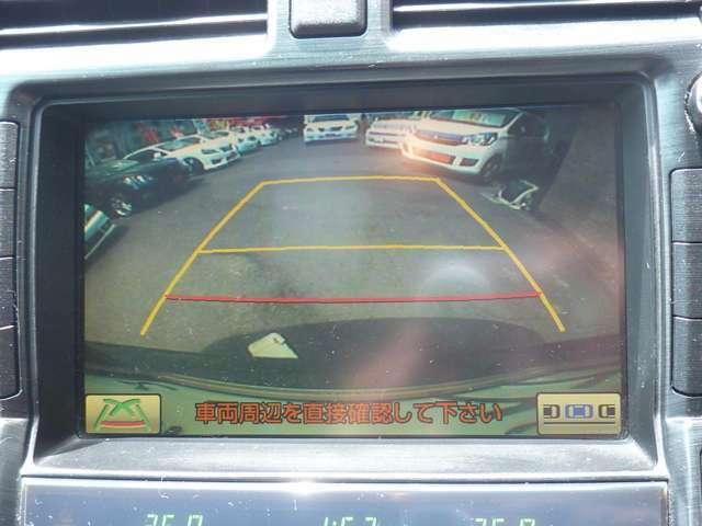 バックモニター付きです♪バック時の安全確認もでき非常に便利です♪車庫入れなどに重宝します♪