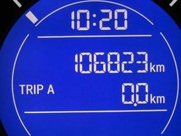 走行距離はおよそ107,000kmです。