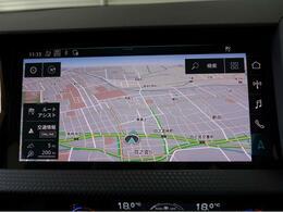 ●MMIナビゲーション『高解像度カラーディスプレイに、Bluetooth(R)接続によるハンズフリー通話機能、音声操作も可能なボイスコントロール機能を搭載しています。』