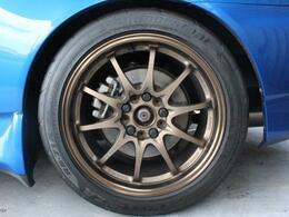 RAYS VOLKレーシング17AW タイヤもまだまだ!!
