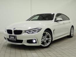 BMW 4シリーズグランクーペ 420i Mスポーツ 認定中古車 車検整備付 茶革 ドラレコ