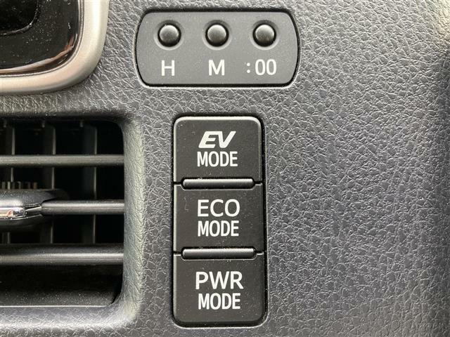 【ECOモード・PWRモード・EVモード】走行環境に合わせて走行モードを切り替え可能です☆