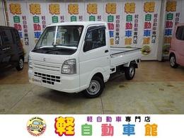 スズキ キャリイ 660 KC パワステ 3方開 4WD マニュアル車