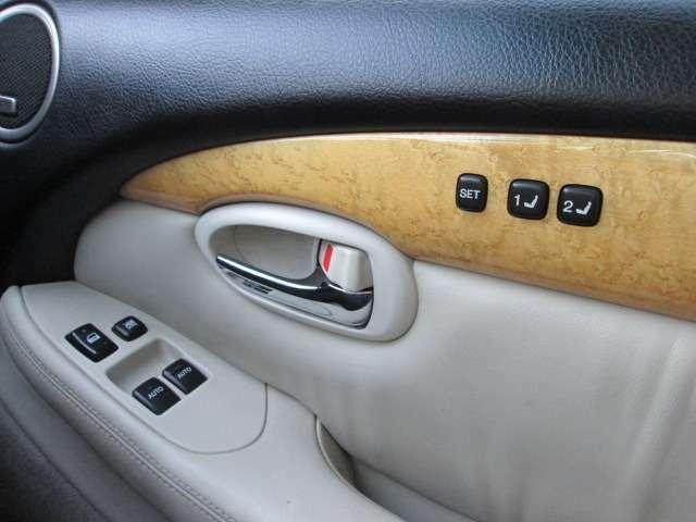 運転手が運転しやすい位置でコンピューターに登録する!プリセットドライビングポジションスイッチ!
