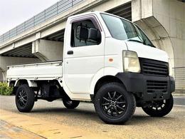 スズキ キャリイ 660 KCエアコン・パワステ 3方開 4WD 2インチリフトUP新品タイヤ新品ホイール
