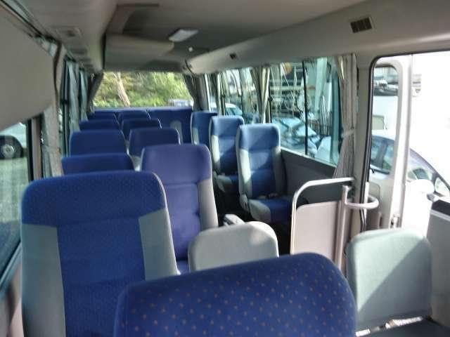 ゆったり乗れるバスです!