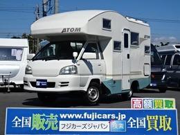 トヨタ ライトエーストラック バンテック アトム406 FFヒーター 2段ベッド マルチルーム ナビ
