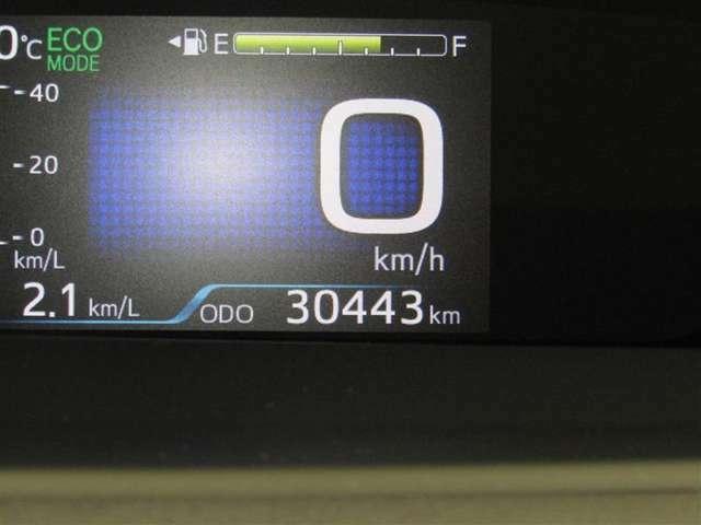 走行距離はおよそ30,000 kmです☆★