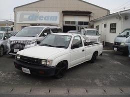 トヨタ ハイラックス 2.0 デラックス シングルキャブ 低床 一方開 Cノッチ公認4ナンバー登録車両