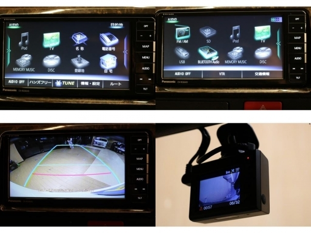 【ナビゲーション機能&ドライブレコーダー】ドライブレコーダーにはユピテル製のTW77前後録画モデルを搭載♪