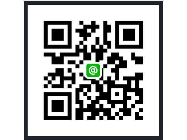 Aプラン画像:QRコードをスマホのカメラで読み取っていただくだけでライン@をご登録頂けます!詳細画像やご質問などにも迅速にお答えできるので大変便利ですよ♪