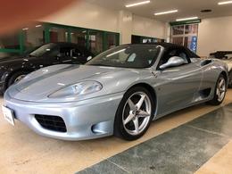 フェラーリ 360スパイダー F1 V8気筒DOHC 正規D車