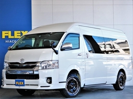 トヨタ ハイエース 2.7 グランドキャビン 4WD ワンオーナー セーフティーセンス付き