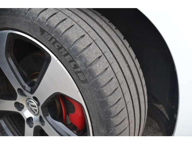 タイヤの溝もばっちりあります♪
