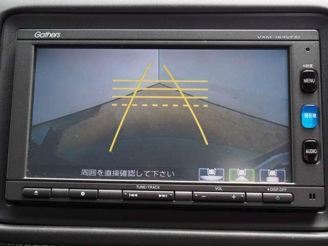 後方確認はオマカセのリアカメラ付、ガイド線は再セットいたします。 車庫入れもラクラクです