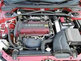 4G63インタークーラーターボエンジン!