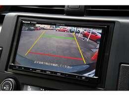 バックカメラを装備しております!駐車の際や後退時も後ろの状況が確認出来て安心です!