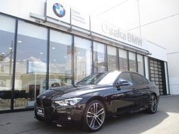 BMW 3シリーズ 320d Mスポーツ エディション シャドー 弊社下取1オーナ- ACC黒レザーLED純正19AW