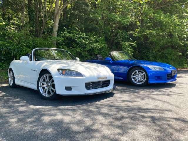 白S2000の他に青S2000もございますのでお気軽にお問い合わせ下さい(サーキット試乗センター 0436-52-4400)