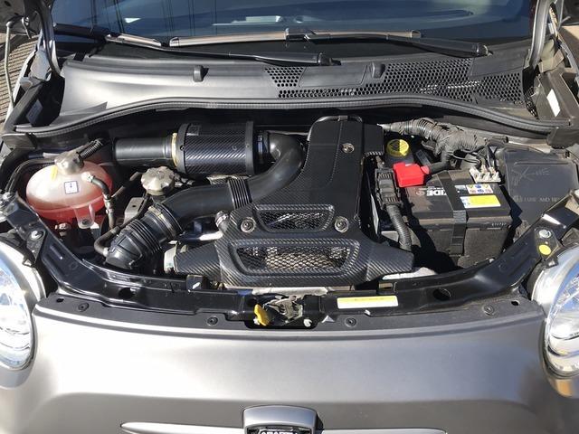1.4L 直列4気筒DOHC16バルブインタークーラー付ターボエンジン搭載