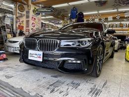 BMW 7シリーズ 740d xドライブ Mスポーツ ディーゼルターボ 4WD ディーゼル ナビ・地デジTV・ETC・Bカメラ