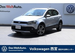 フォルクスワーゲン クロスポロ 1.2 VW認定中古車・障害物センサー・純正ナビ