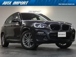 BMW X3 xドライブ20d Mスポーツ ディーゼルターボ 4WD 現行型 黒半革 Dアシスト HUD LED 1オナ