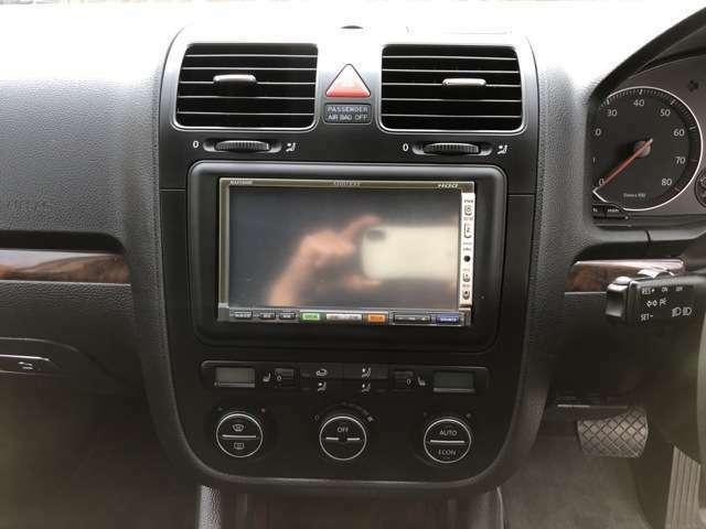 HDDナビ付!ミュージックプレイヤー接続可です!お好きな音楽でドライブの質を更に高めましょう!