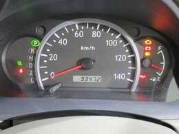 見やすい 大きなスピードメーター。