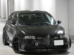 アルファ ロメオ アルファ147 GTA ユニコルセエキマニ ノビテックマフラー