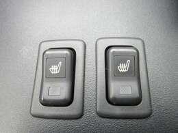 運転席、助手席シートヒーター機能搭載♪ 冬場の冷たいシートもこれで安心ですね♪ 上級グレードならではの特別な装備となります♪